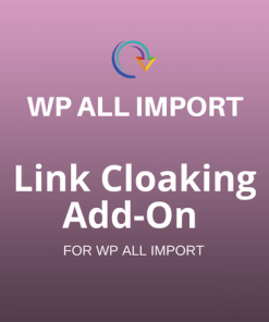 link cloaking addon wpall import