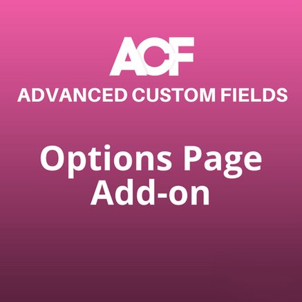 options page acf