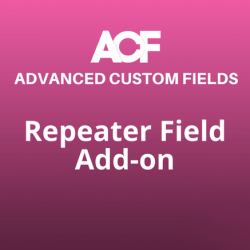 repeater field addon acf