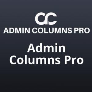 Admin Columns Pro