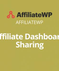 Affiliate Dashboard Sharing
