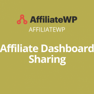 Affiliate Dashboard Sharing