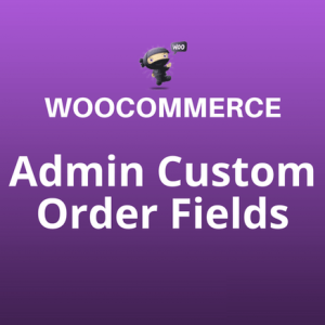 admin custom order fields