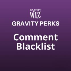 Comment Blacklist