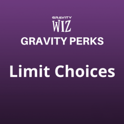 Limit Choices
