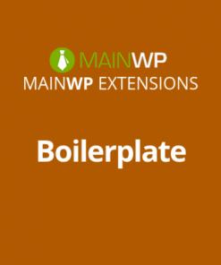 MainWP Boilerplate
