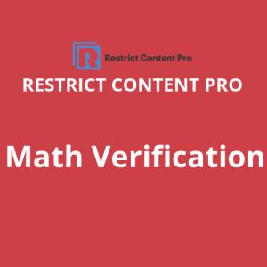 RCP Math Verification