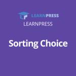 sorting choice