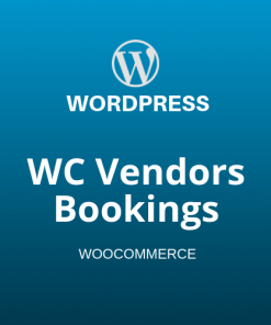 WC Vendors Bookings