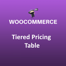 Tiered Pricing Table